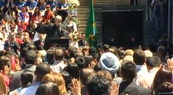 July 4, 2012 naturalization ceremony at Seattle Center
