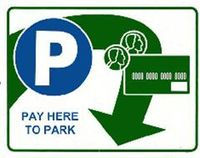 Paid parking graphic