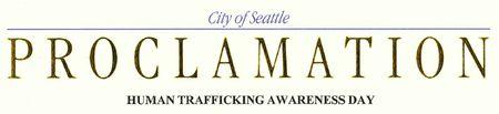 Human trafficking proc