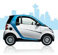 screenshot from car2go's Web site