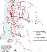 Metro routes