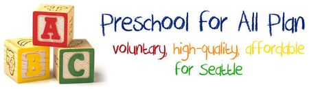 Preschool for all plan