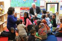 Mayor Murray in preschool