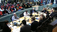 Seattle Channel screen shot of committee this morning