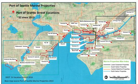 Port of Seattle Street Vacation Map